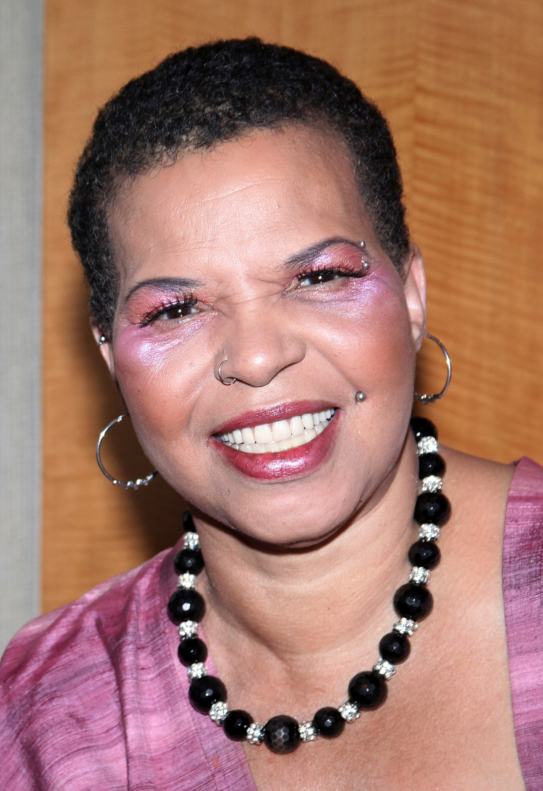 ***FILE PHOTO*** Playwright Ntozake Shange Has Passed Away Ntozake Shange.attending the New Federal Theatre Press Conference at Trump Place, New York City. Credit: Walter McBride/MediaPunch /IPX