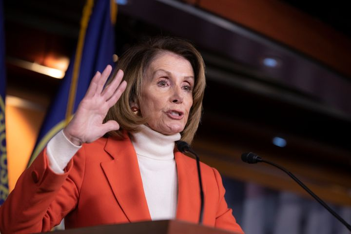 Nancy Pelosi will need at least 218 votes to be speaker of the House in the next session of Congress. About 234 Democrat