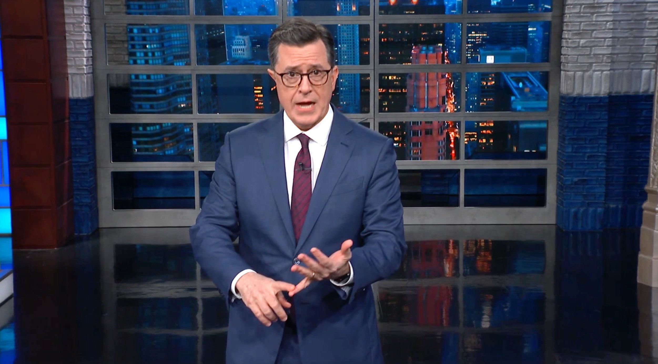Colbert Reveals The Real Reasons Trump Is 'Pissed At Damn Near