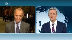 """Merz kontert Claus Kleber im ZDF-""""Heute-Journal"""": """"Korrigiere Sie nur ungern"""""""
