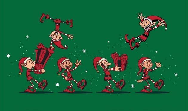 Η «Επέλαση των Ξωτικών» και το χριστουγεννιάτικο