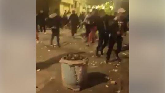 Affrontements entre des jeunes et les forces de l'ordre à Bab El