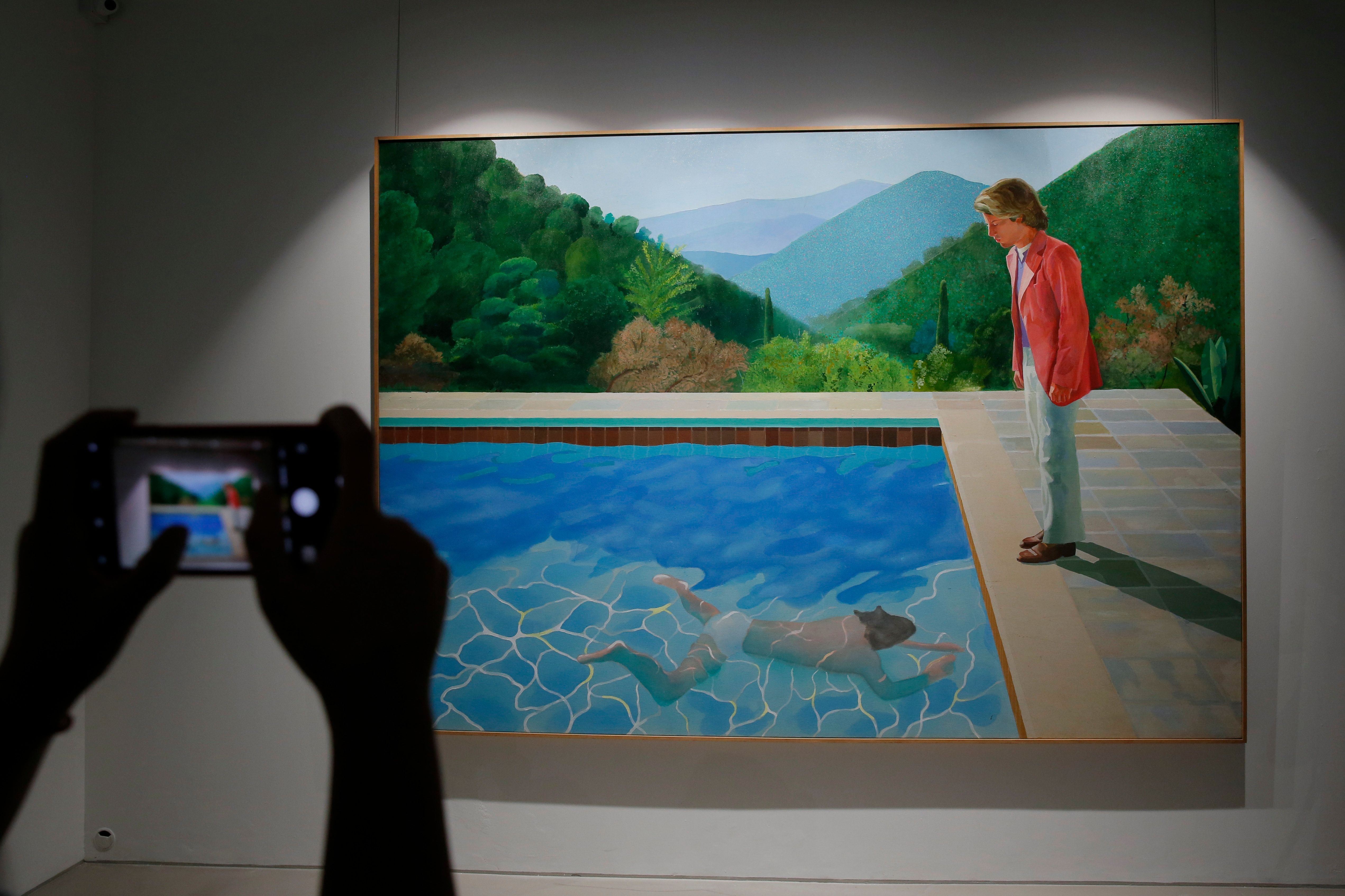 Un tableau de David Hockney vendu 90,3 millions de dollars