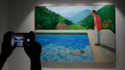 Une toile de David Hockney explose le record de vente pour un artiste