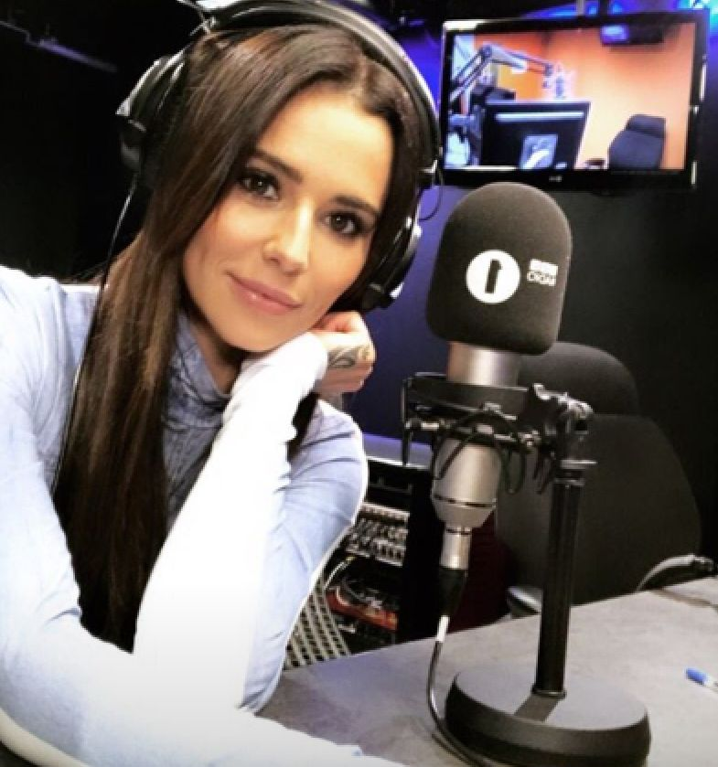 Liam Payne Couldn't Resist Texting In As Cheryl Hosted Nick Grimshaw's Radio 1