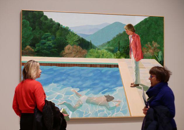 Ο πίνακας του Ντέιβιντ Χόκνι που έσπασε το παγκόσμιο ρεκόρ πώλησης και η ερωτική ιστορία που ίσως