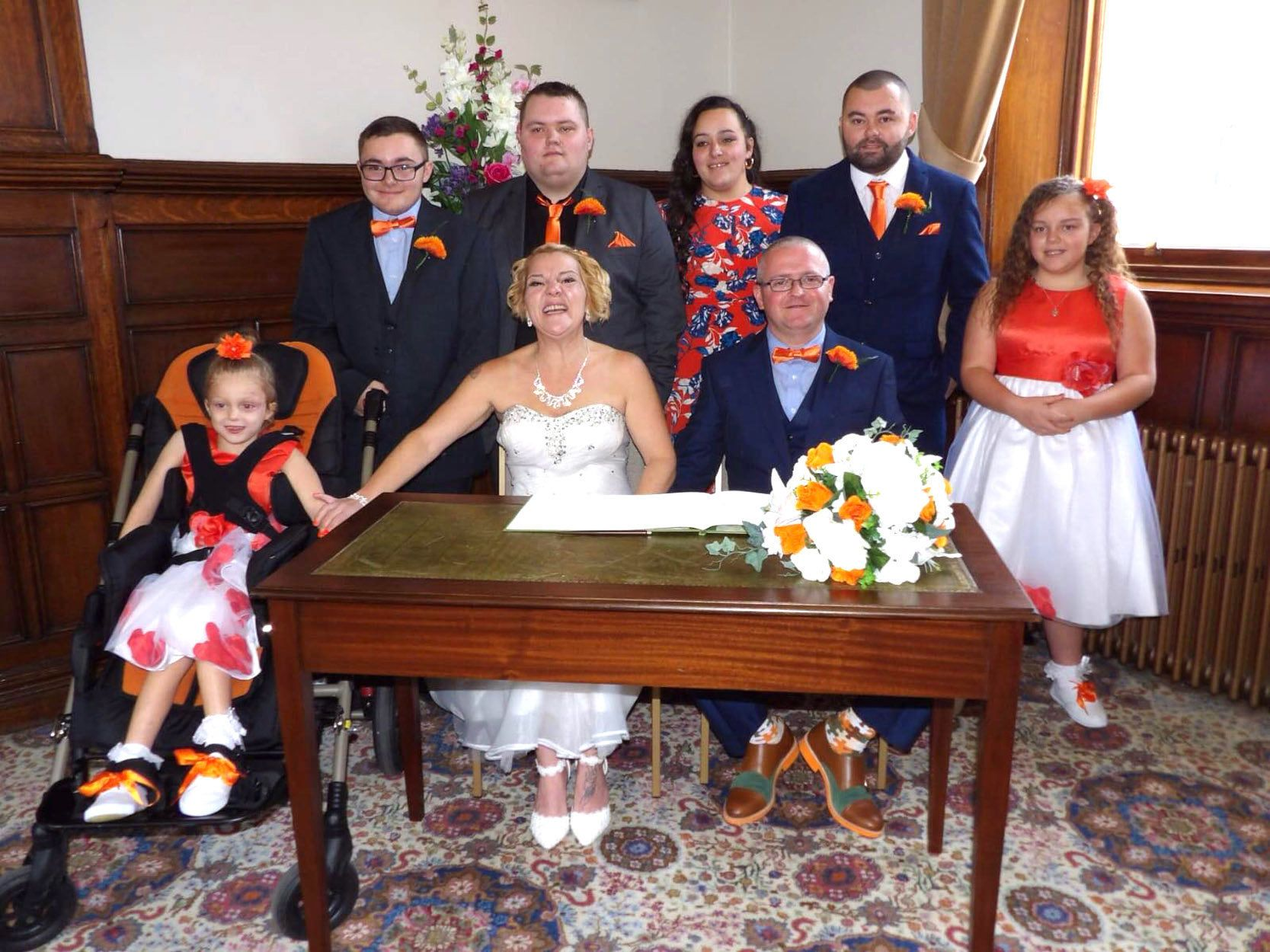 CHILD DEMENTIA: Bride Whose 6-Year-Old Daughter Has Dementia On Why She Got Married On Her
