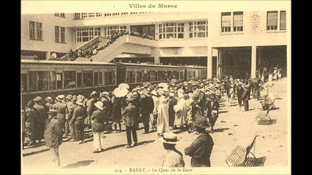 L'histoire des chemins de fer au Maroc en 14