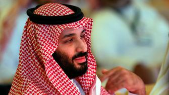 Saudi Crown Prince, Mohammed bin Salman attends the second day of the Future Investment Initiative conference, in Riyadh, Saudi Arabia, Wednesday, Oct. 24, 2018. The powerful crown prince spoke at the Riyadh investment forum clouded by Jamal Khashoggi's killing. (AP Photo/Amr Nabil)