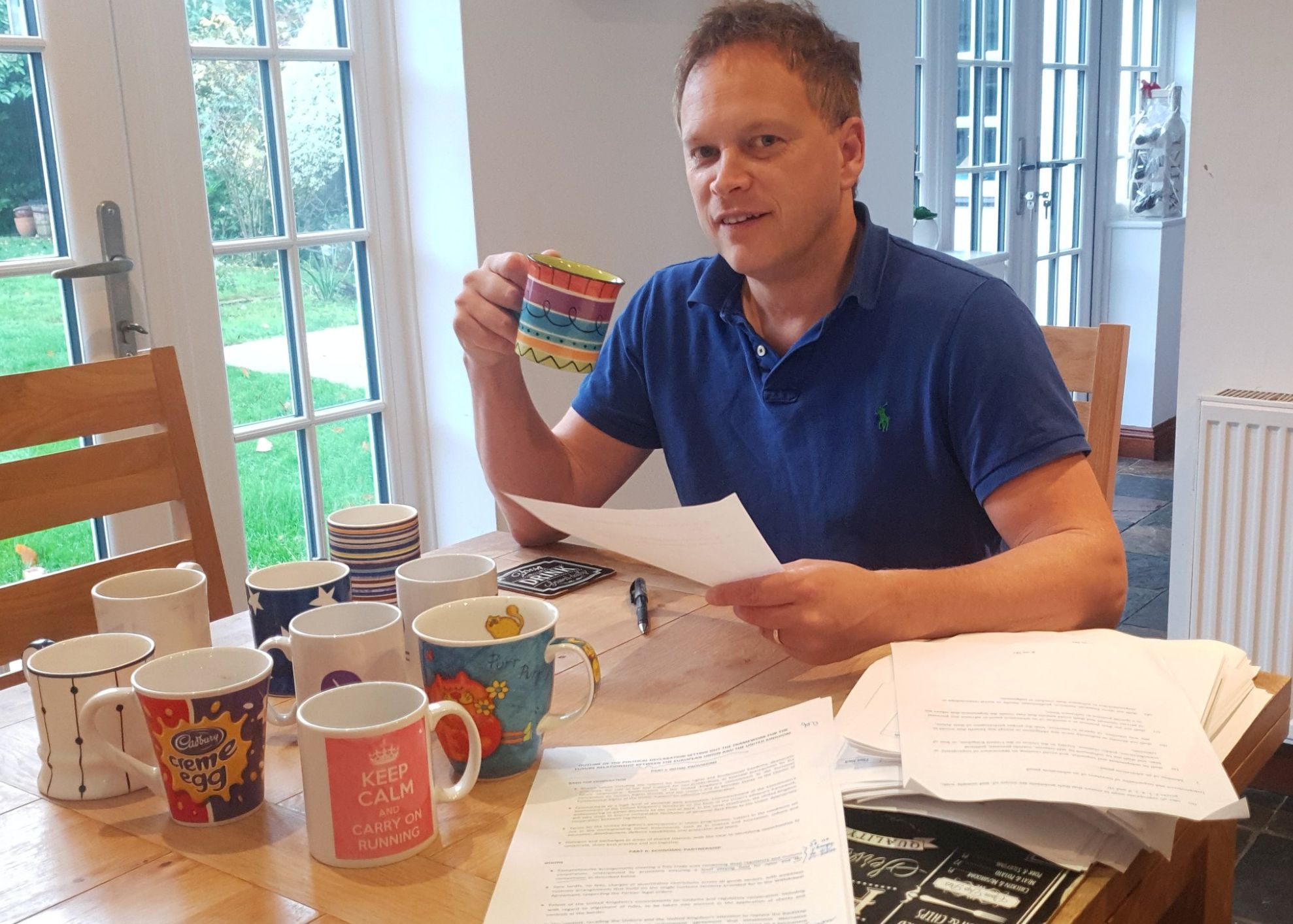 Grant Shapps Is Probably Regretting Posting This 'Brexit Verdict'