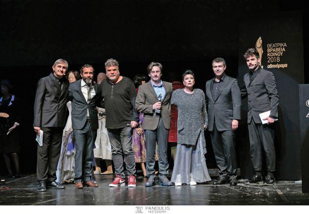 Θεατρικά Βραβεία Κοινού 2018 από το Αθηνόραμα