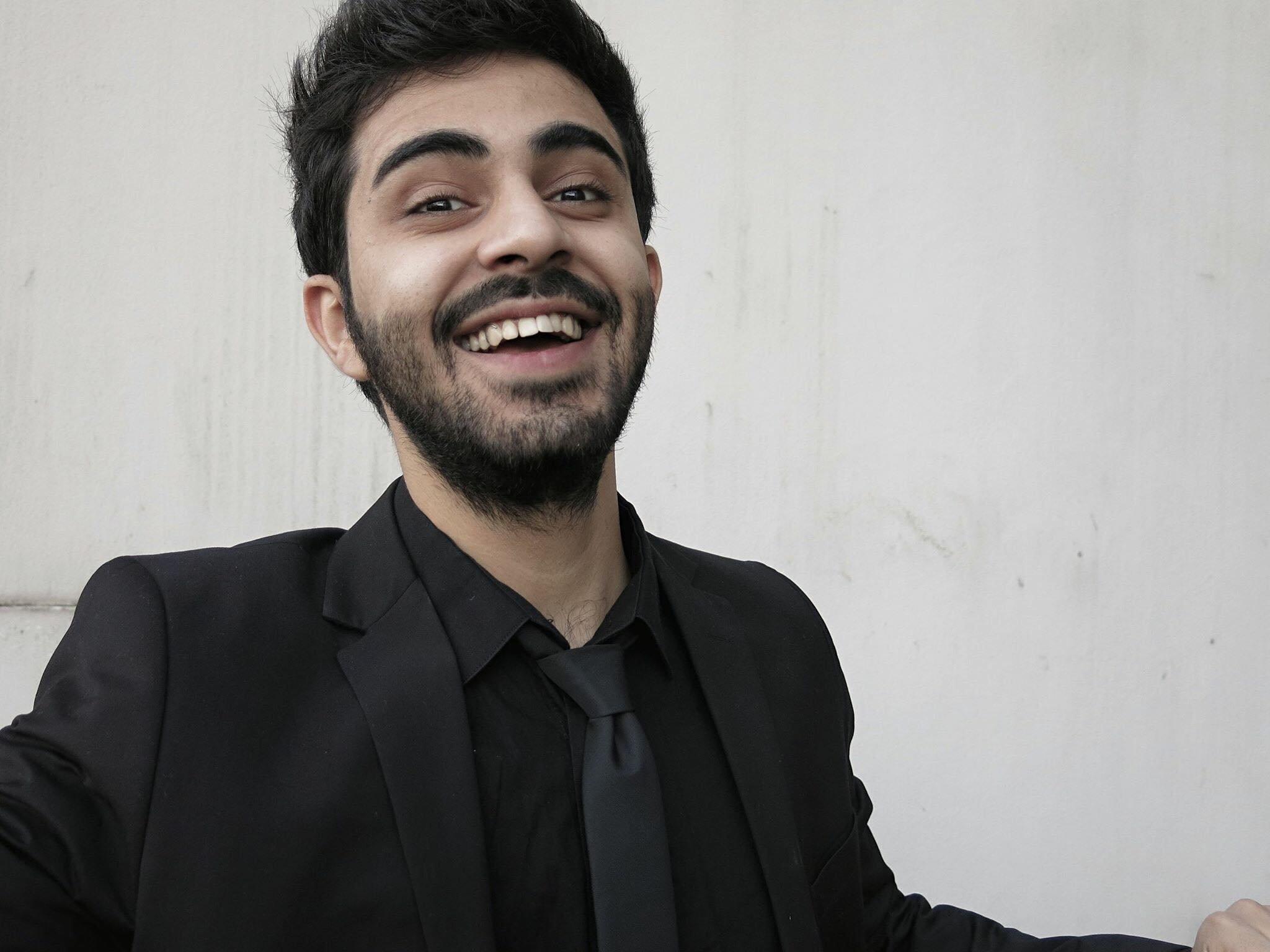 Amed Sherwan lässt sich nicht einschüchtern.