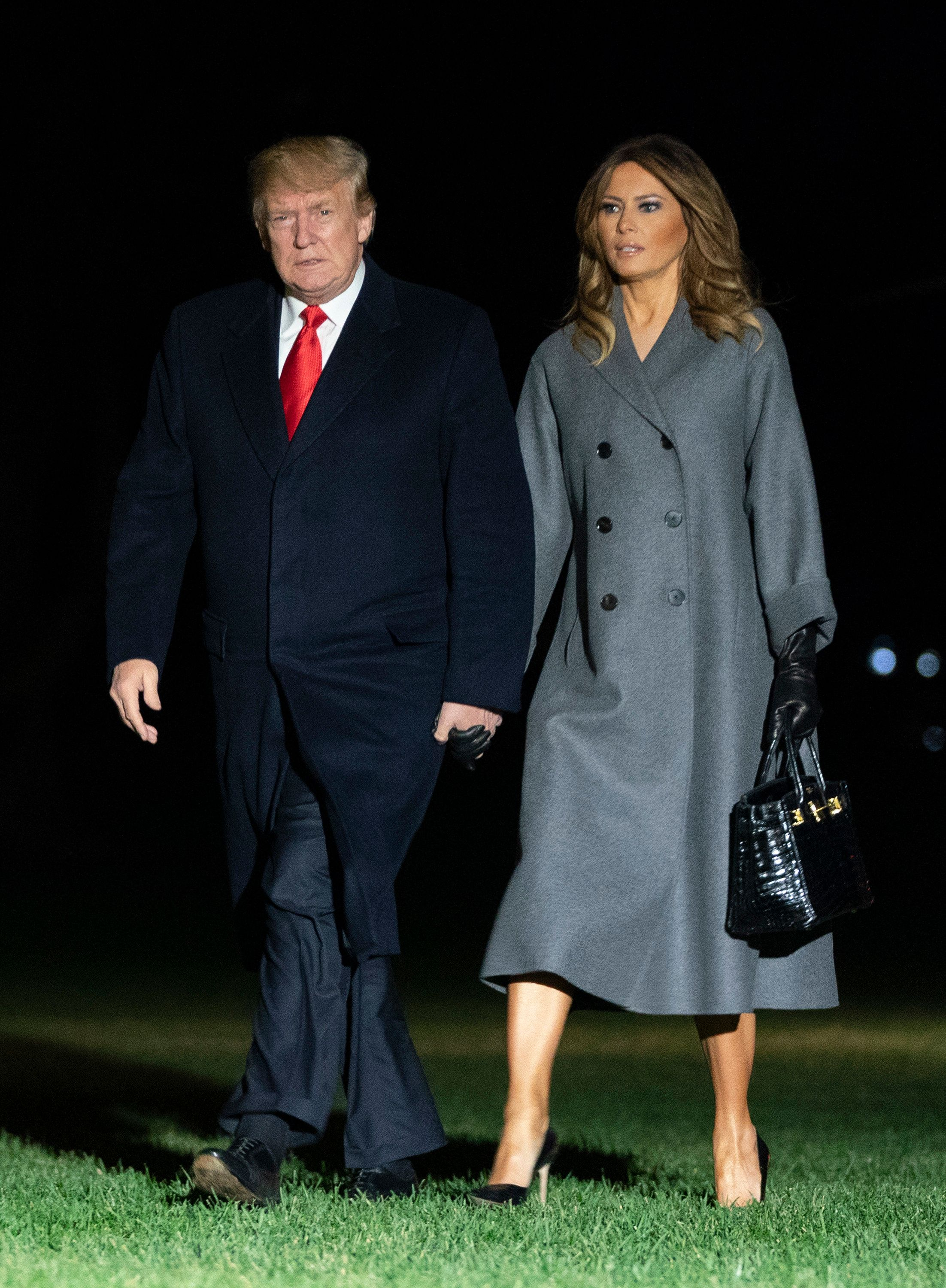 Melania Trump Racked Up £135,000 In Hotel Bills During A One-Day Trip To