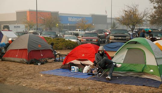 Καλιφόρνια: Αντιμέτωποι με σφοδρές βροχοπτώσεις θα βρεθούν τις επόμενες ημέρες οι πληγέντες που κοιμούνται σε