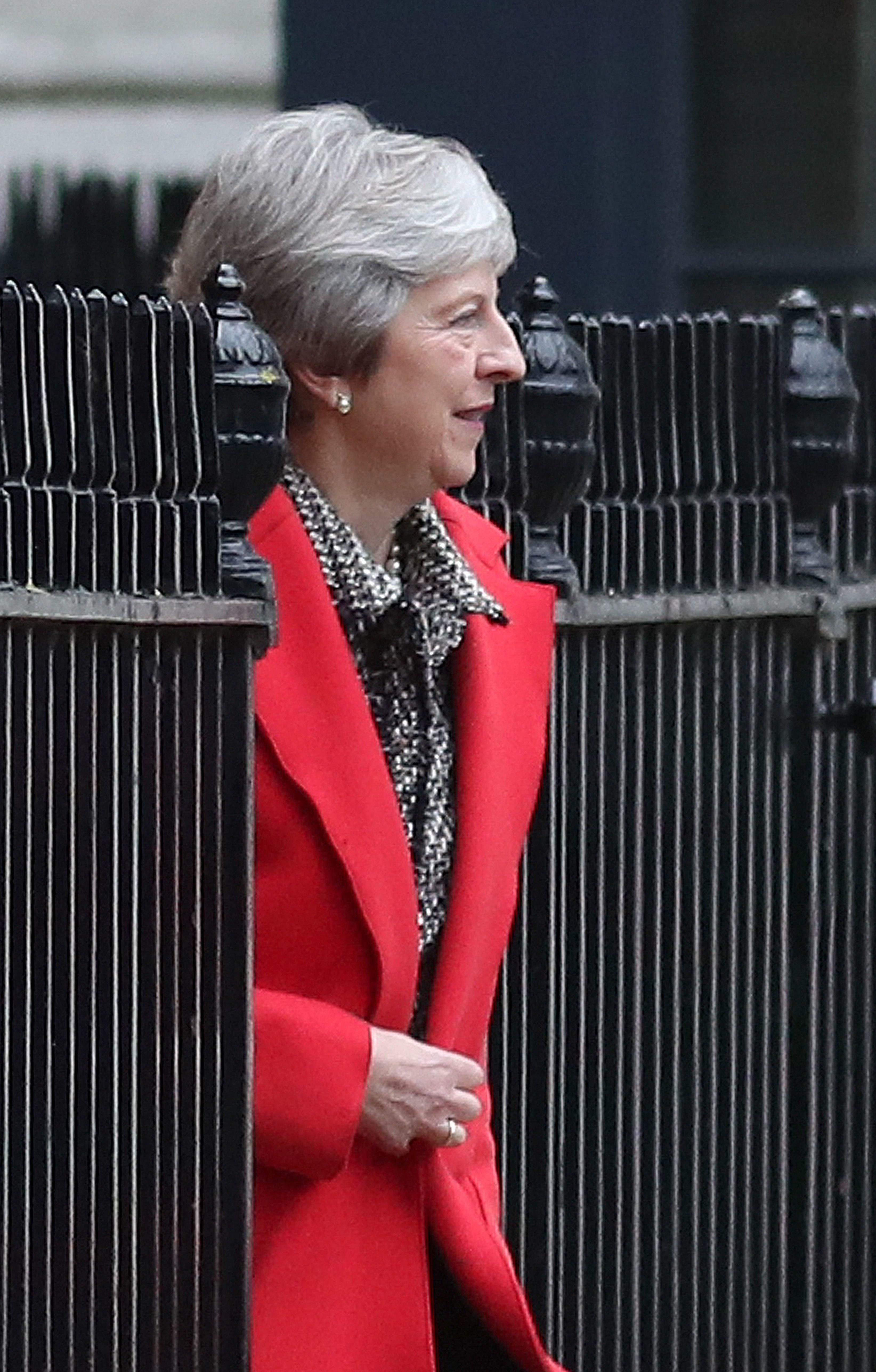 Verantwortliche für und Opfer des Brexit-Chaos zugleich: Großbritanniens Premierministerin Theresa May.