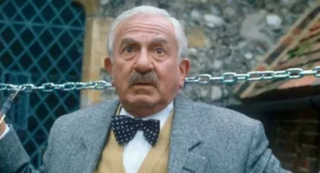John Bluthal as Frank Pickle in BBC sitcom 'Vicar of Dibley'.