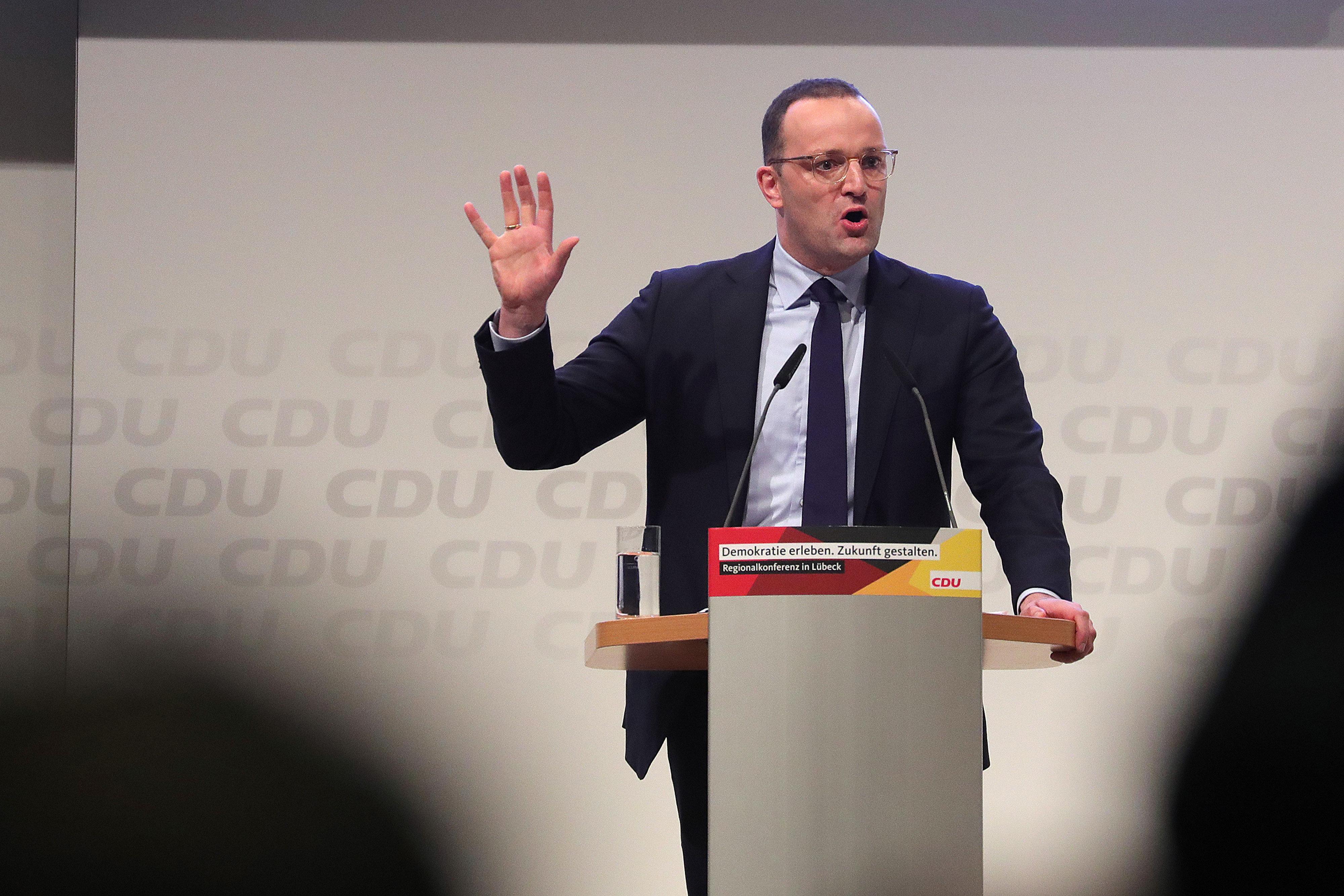 Gesundheitsminister Jens Spahn will CDU-Vorsitzender werden.
