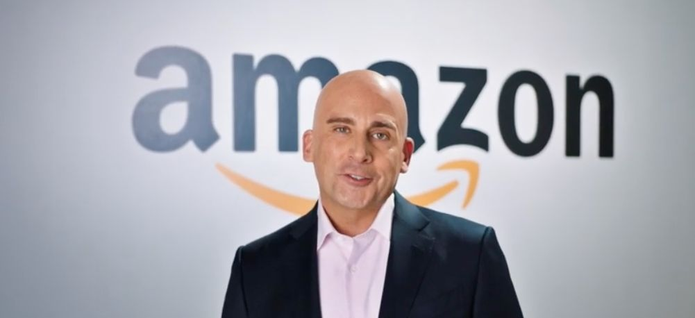 Steve Carell Bezos sketch on SNL