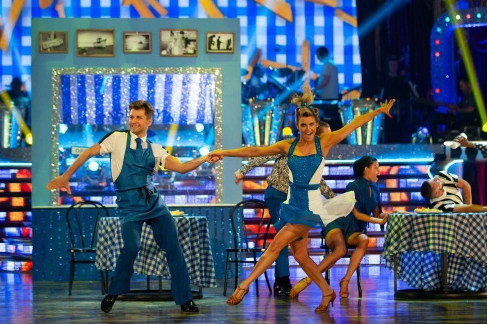 STRICTLY: Ashley Roberts' Jive Tops Leaderboard With First Perfect Score Of The