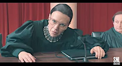 Bad To The Bone: Ruth Bader Ginsburg Gets Down In Epic 'SNL' Rap