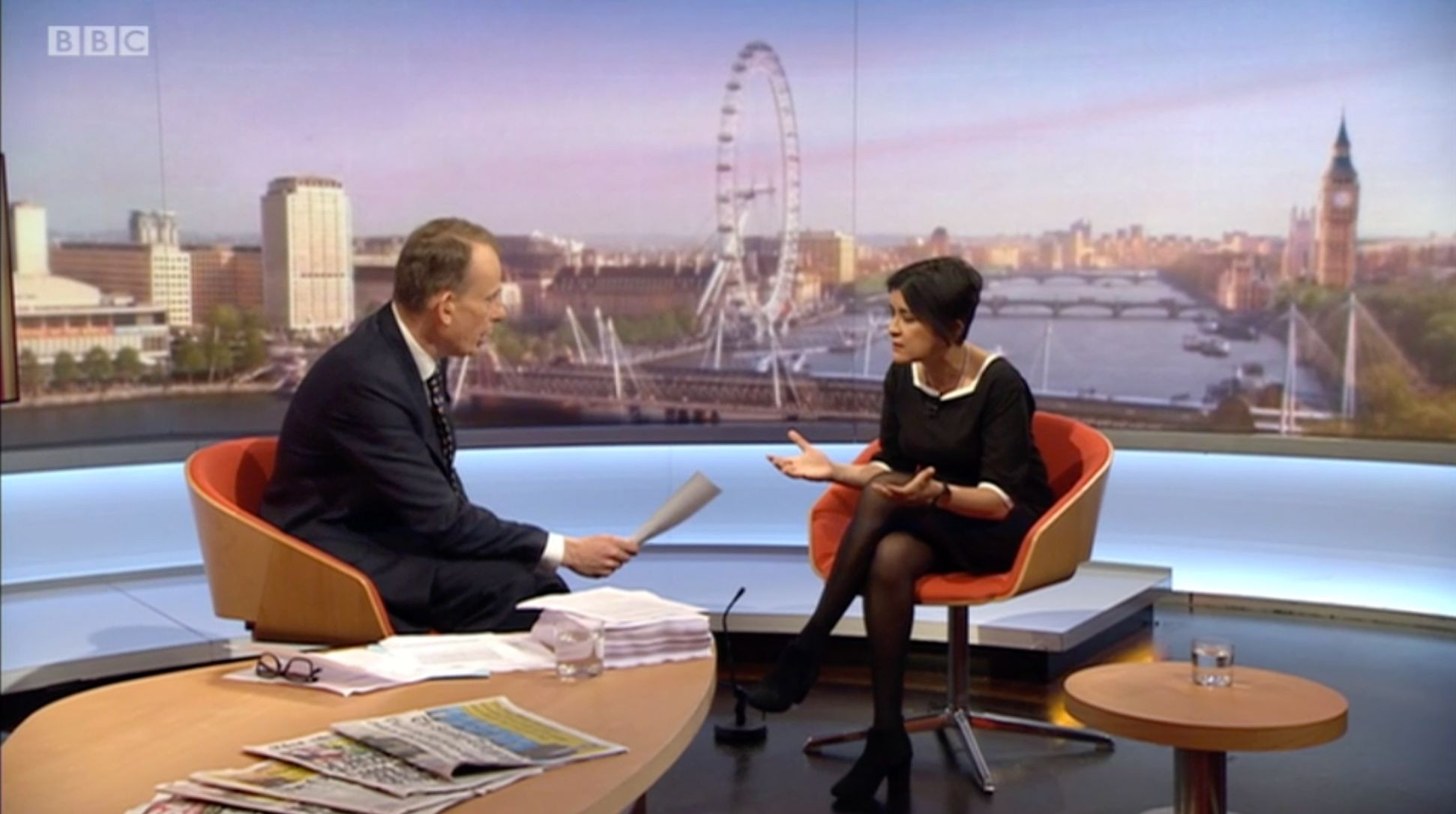 Labour's Shami Chakrabarti Left Stunned After Bruising Interview With Andrew