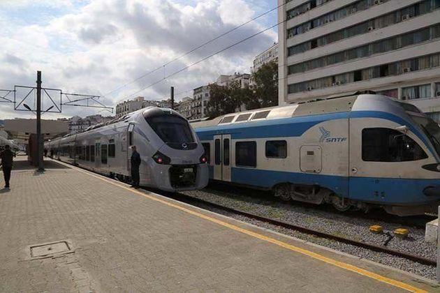 Perturbation du trafic ferroviaire à partir d'Alger en raison du mouvement de protestation des techniciens...
