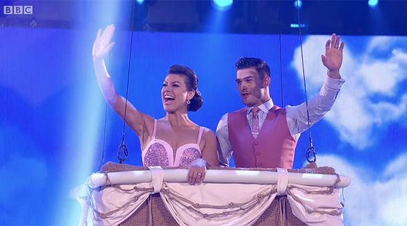 Kate andAljaž have waved goodbye to the competition.