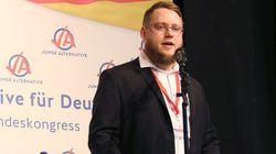 AfD-Nachwuchs-Chef beklagt Nähe zu Identitären – denen er selbst