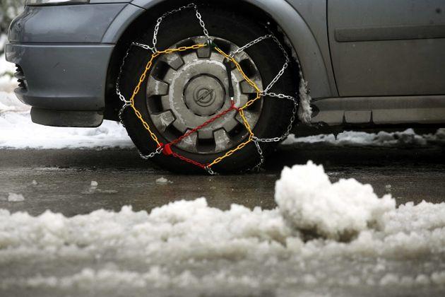 Κλειστά σχολεία και αλυσίδες στα οχήματα στη Δυτική Μακεδονία τη Δευτέρα