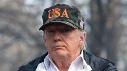Malgré les incendies en Californie, Trump n'a pas changé d'avis sur le réchauffement