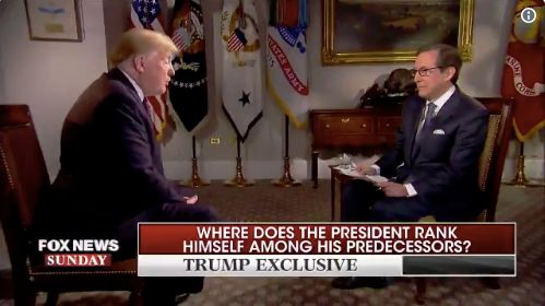 Here Are The Wildest Moments From Trump's 'Fox News Sunday' Interview