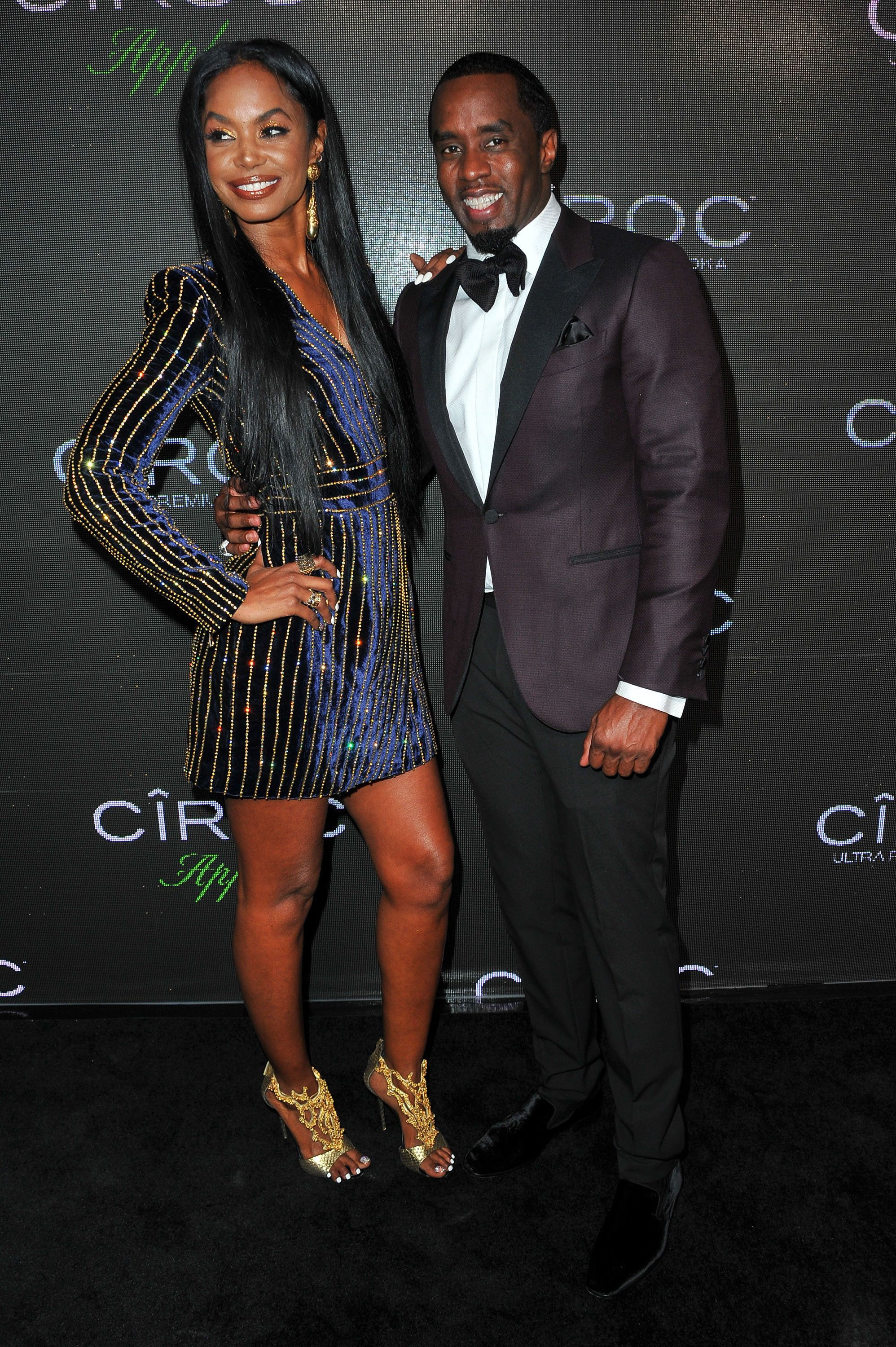 BEVERLY HILLS, CA - NOVEMBER 21:  Model Kim Porter and recording artist Sean 'Diddy' Combs attend Sean 'Diddy' Combs' Exclusive Birthday Celebration on November 21, 2015 in Beverly Hills, California.  (Photo by Allen Berezovsky/Getty Images)