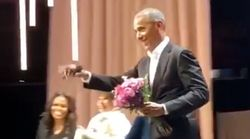 Barack Obama Makes Surprise Appearance During Michelle's Book