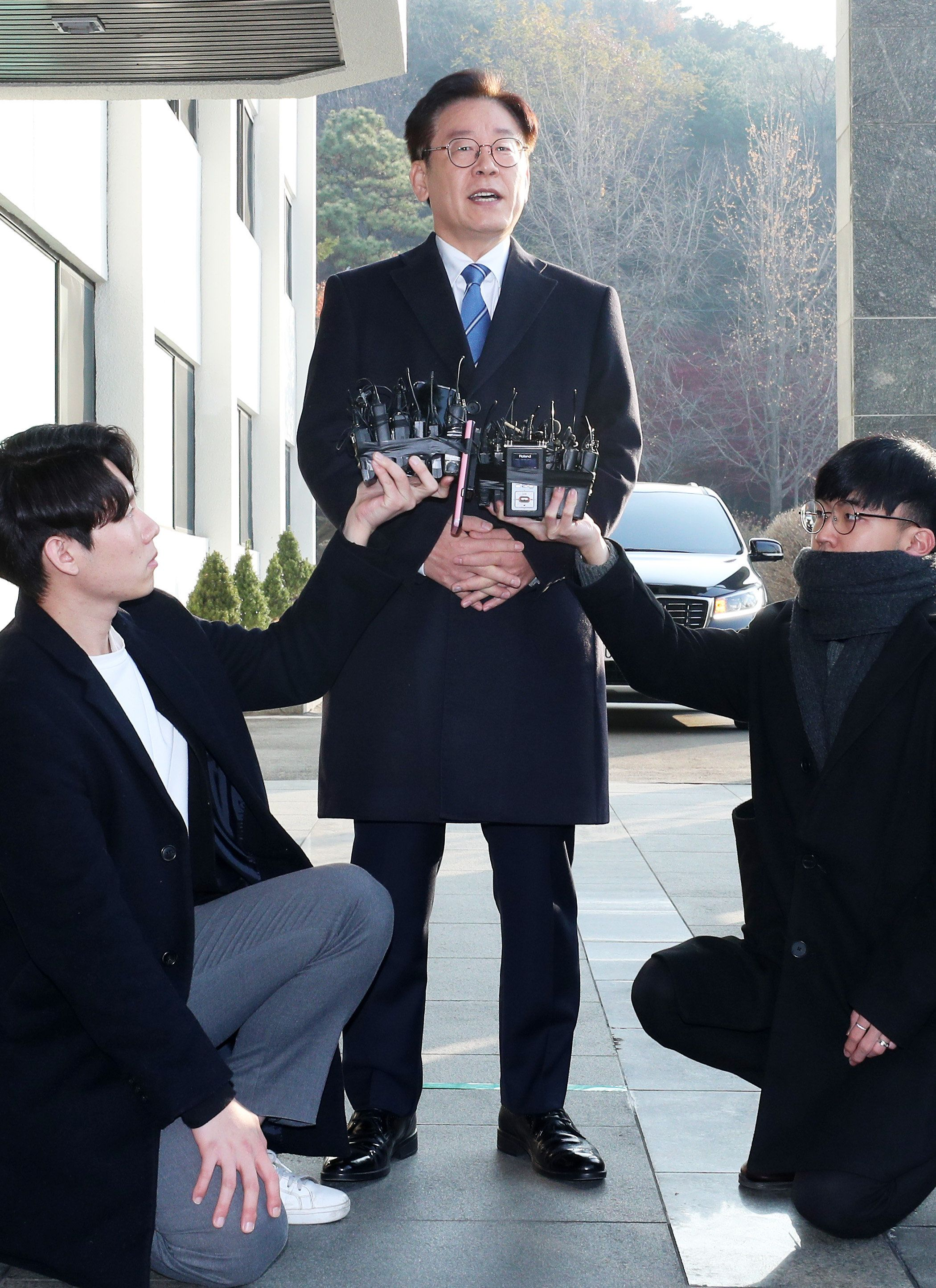 이재명 지사가 출근길에 '혜경궁 김씨' 관련 입장을