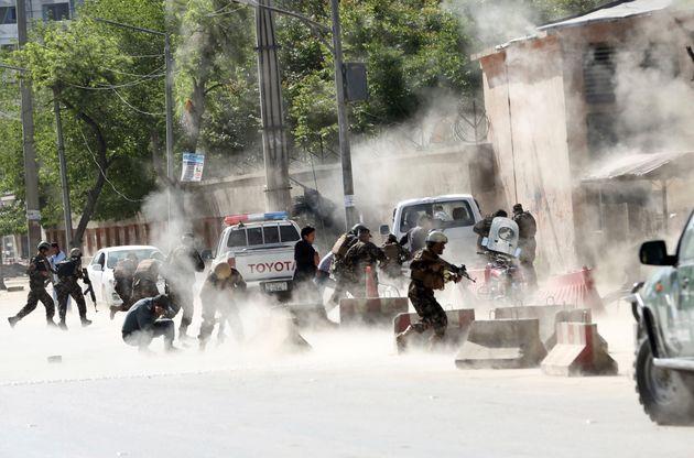 2018년 4월 30일 아프가니스탄 카불에서 벌어진 자살 폭탄