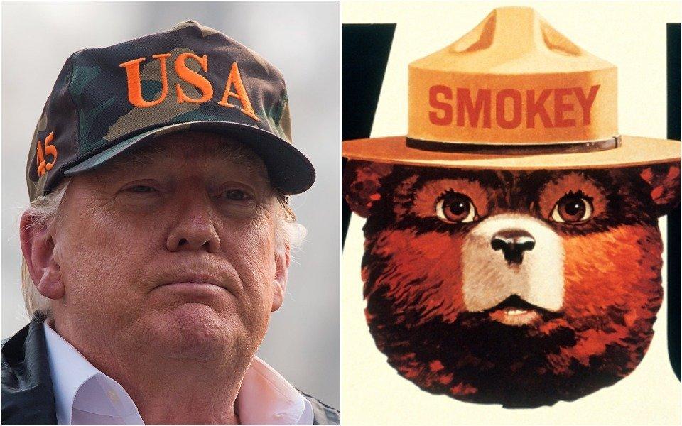 Donald Trump, Smokey Bear