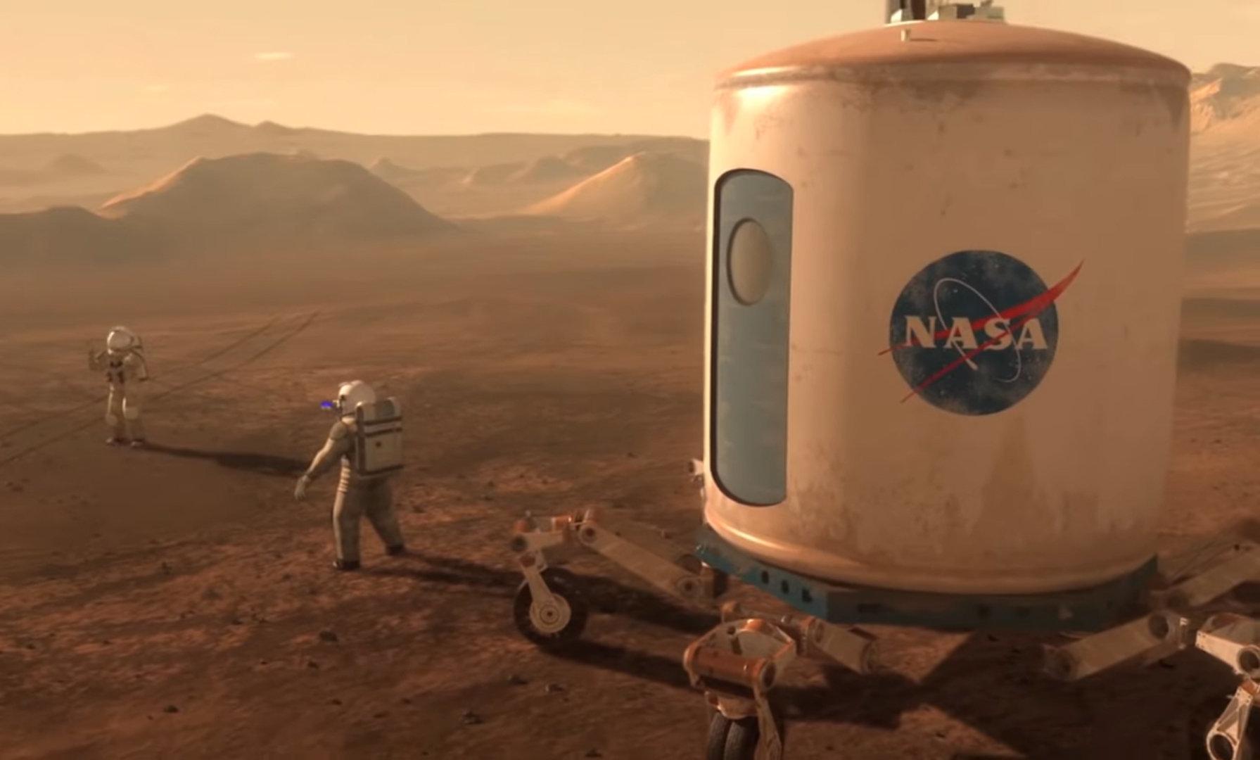 La Nasa veut retourner sur la Lune et le dit avec une bande-annonce digne d'un