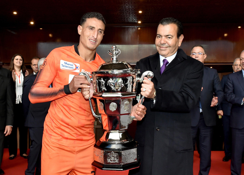 Pour la première fois, le club Renaissance de Berkane remporte la Coupe du