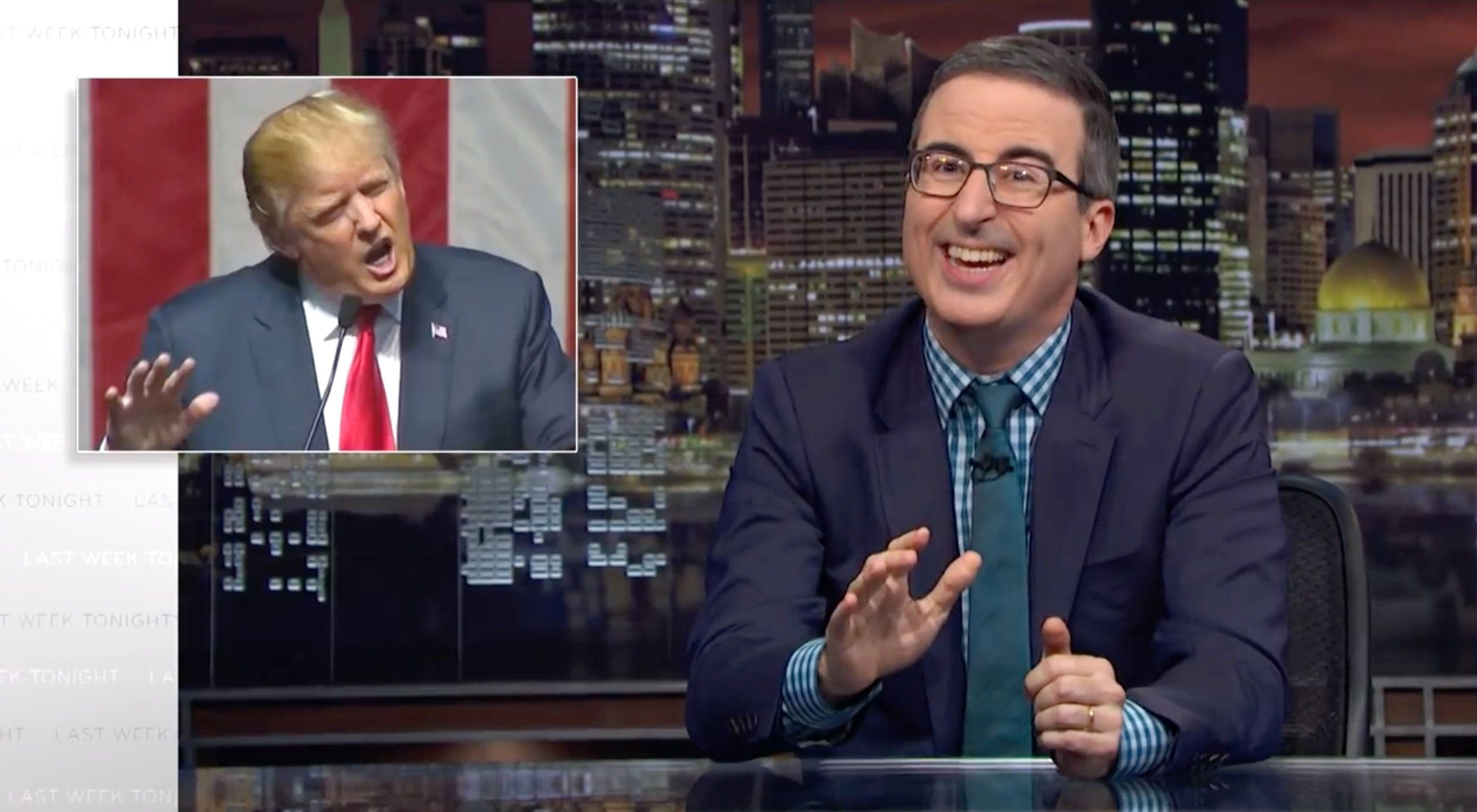 John Oliver Reveals What Trump Has In Common With The World's Worst