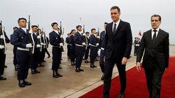 Le président du gouvernement espagnol Pedro Sanchez reçu ce lundi matin par El