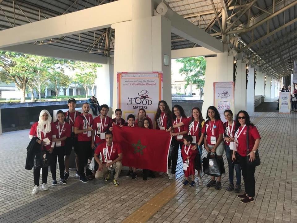 Le Maroc a participé pour la première fois au World Robot
