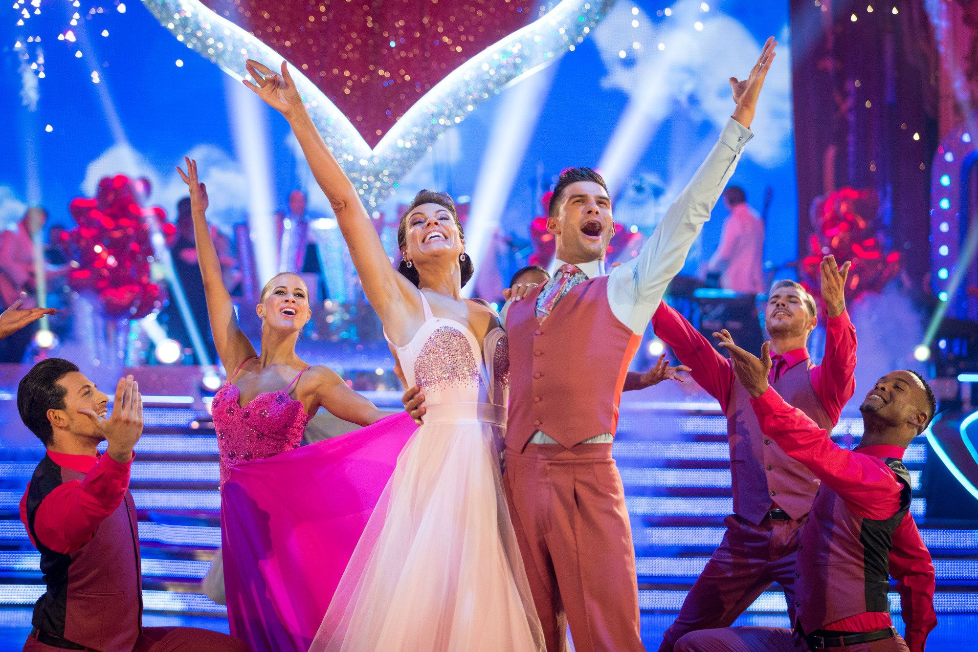 Kate Silverton Is The Eighth Celebrity To Leave 'Strictly' After Spectacular Blackpool