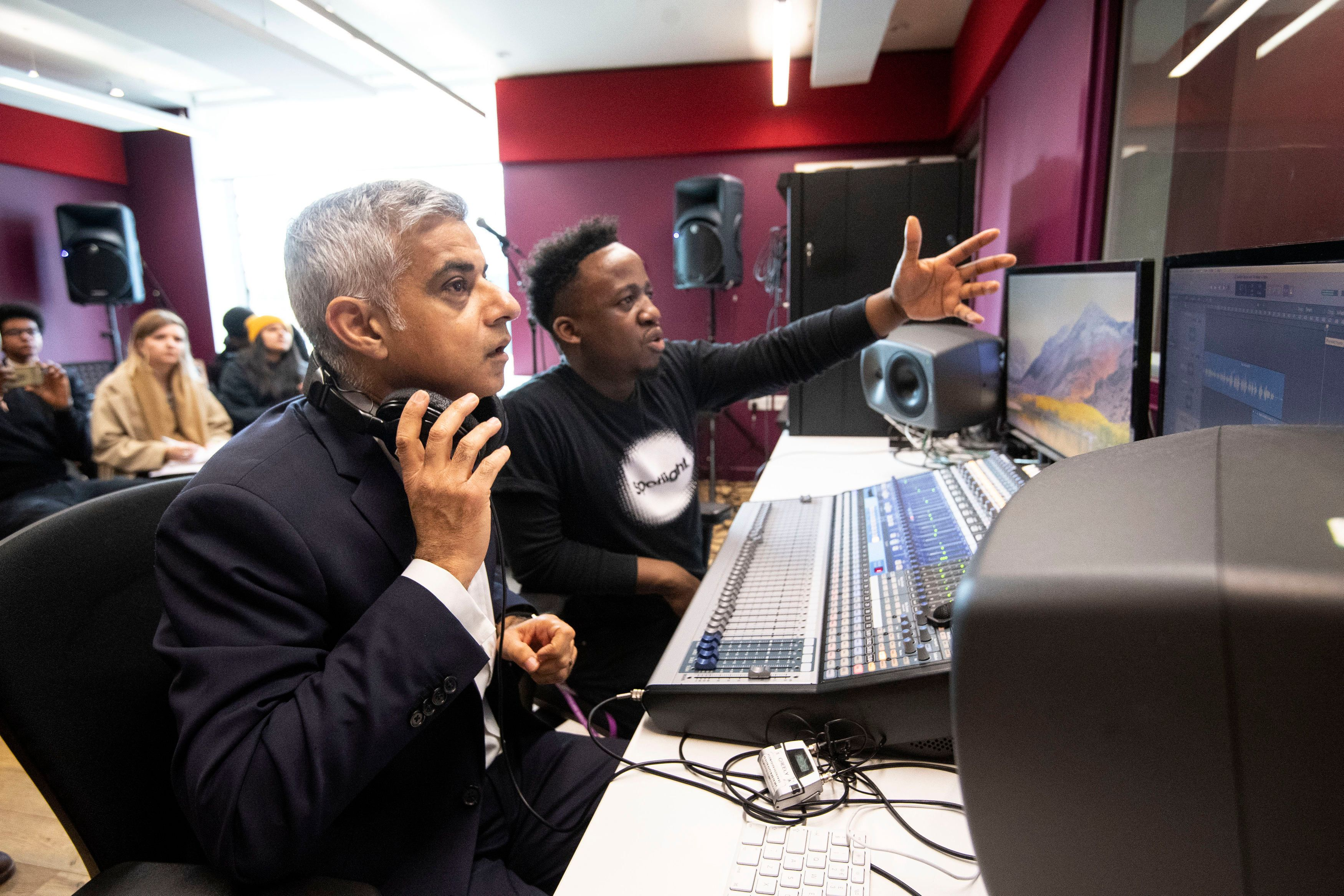 Sadiq Khan Launches Fund To Tackle Youth Violence (Part-Funded By BoJo's Water