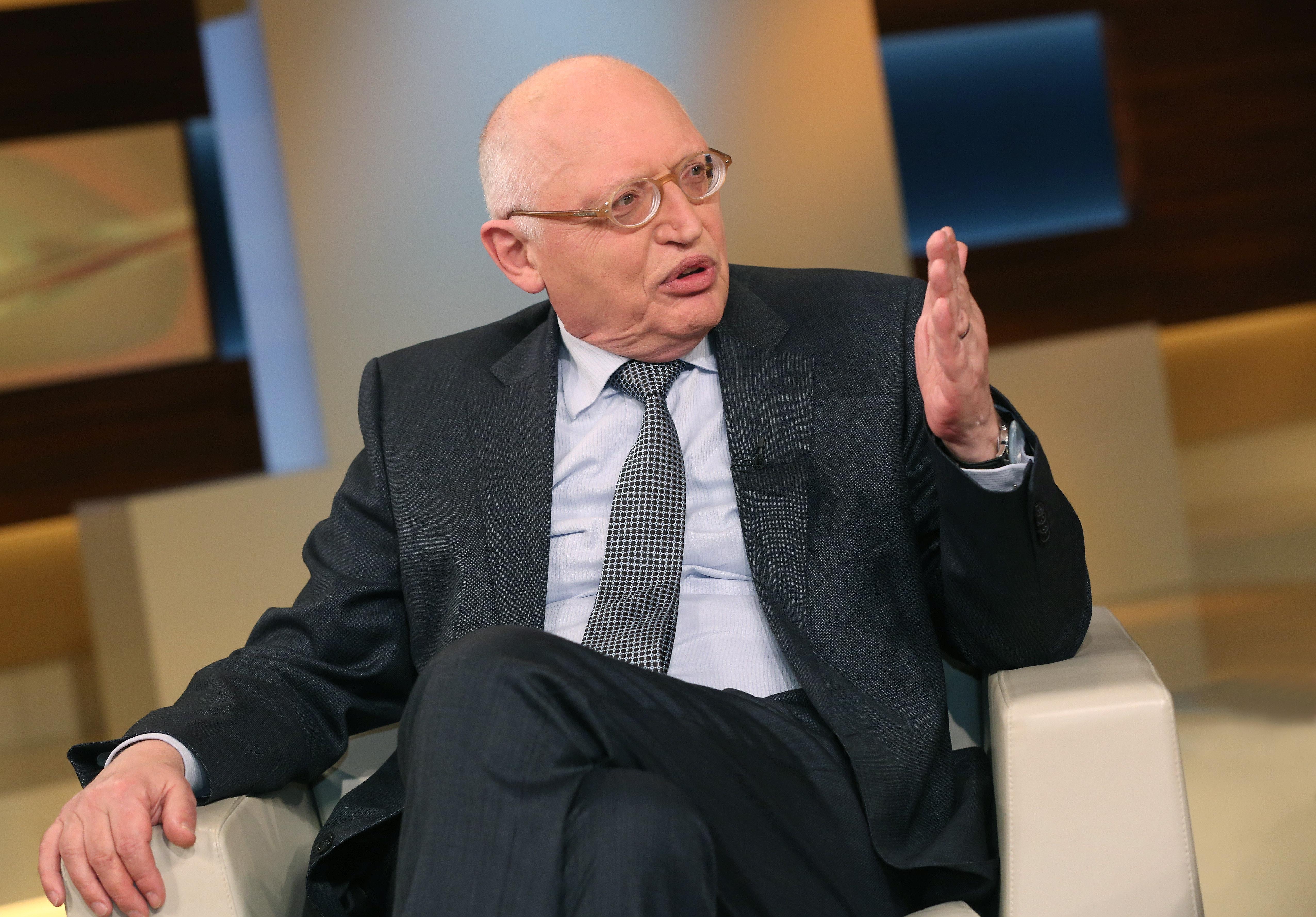 Günter Verheugen, der SPD-Politiker war Vize-Kommissionspräsident und EU-Kommissar für Unternehmen und Industrie.