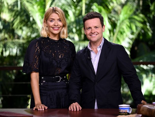 Holly hosted I'm A Celebrity with Dec last