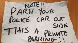 Police Attending 'Life Or Death Situation' Get Hit With Angry Note From