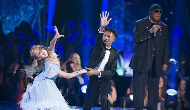 Proud Dad Stevie Wonder Supports Son, Sings Live On 'Dancing With The Stars: Juniors'