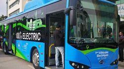 Pour la première fois, un bus 100% électrique circule dans les rues de la