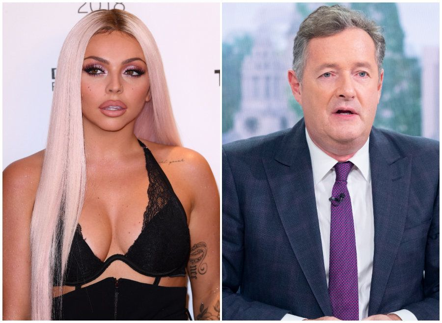 Jesy and Piers Morgan