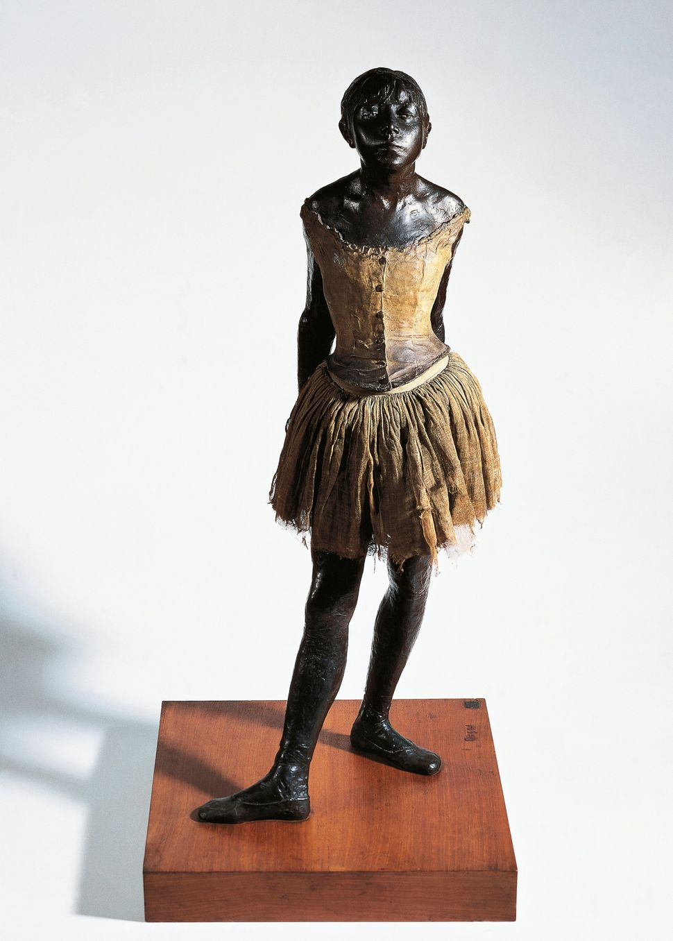 Author Camille Laurens explores the relationship between Degas and van Goethem in her book&nbsp;<i>Little Dancer Aged Fourtee